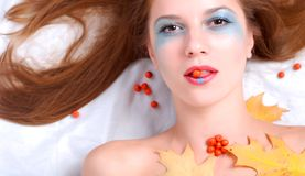 Free Woman And Ashberry Royalty Free Stock Photo - 11366945