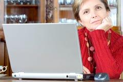 Free Woman And Laptop Stock Photos - 2195283