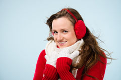Free Woman And Woolen Outfit Stock Photography - 29605482