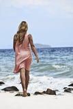 Woman ans sea Stock Photography