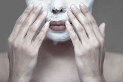 Facial mask Stock Image