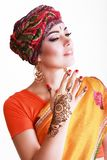 Woman arabian Royalty Free Stock Images
