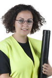 Woman architect Stock Images