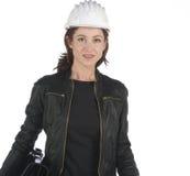 Woman architect Stock Image