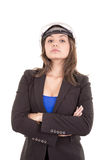 Woman Architect. This image has attached release Royalty Free Stock Photos