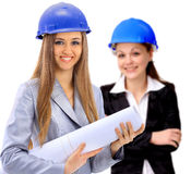 Woman architect team Royalty Free Stock Images