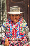 Woman from Arequipa Royalty Free Stock Images
