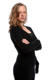 Woman With Arms Crossed Royalty Free Stock Photography