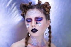 Woman art make up Royalty Free Stock Photos