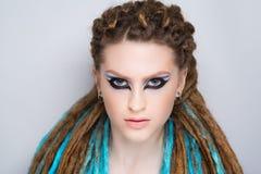 Woman art make up Royalty Free Stock Photo