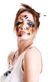 Woman Artist Royalty Free Stock Image