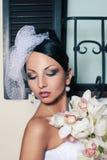 Woman as bride Stock Image