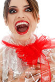 Woman as gift Royalty Free Stock Image