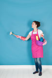 Woman as house wife Stock Photography