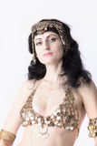 Woman as a princess of egypt look at you Royalty Free Stock Photo