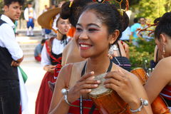 Woman Asia. Woman in national costume from Asia, Thailand Stock Photography