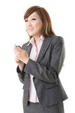 Woman of Asian using smart phone Royalty Free Stock Photo