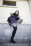Woman assaults woman Royalty Free Stock Photography