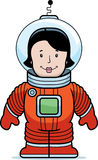 Woman Astronaut Royalty Free Stock Image