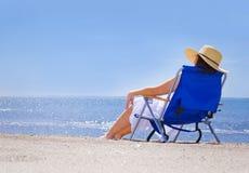 Free Woman At Beach Stock Image - 25344771