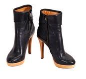 Woman autumn boots Stock Photo