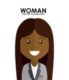 Woman avatar Royalty Free Stock Image