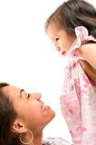 Woman and Baby Stock Photography