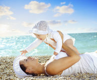 Woman and baby Royalty Free Stock Photography