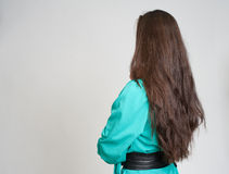 Woman back view Royalty Free Stock Photography