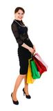 Woman with bag Royalty Free Stock Image