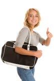 Woman with bag Stock Photos
