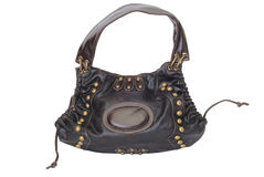 Woman bag. Woman purse - fashion accessory isolated on white Stock Images