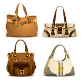 Woman Bag Collection Part 2. Expensive and luxury woman bag collection Royalty Free Stock Image