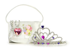 Woman bag isolated Royalty Free Stock Photos