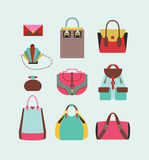 Woman bags Stock Photography