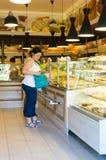 Woman bakery Stock Image