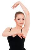 Woman ballerina ballet dancer Stock Image