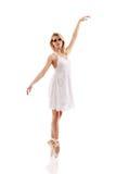Woman ballet dancer Royalty Free Stock Photo