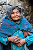Woman from Baltistan, India Royalty Free Stock Photos