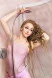 Woman bathing Royalty Free Stock Photos