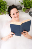Woman in bathtub Royalty Free Stock Photography