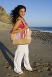 Woman beach Stock Photo