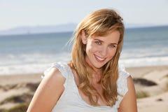 Woman beach Royalty Free Stock Image