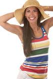 Woman in beach wear Royalty Free Stock Photos