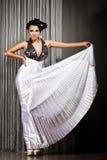 Woman in beautiful dress Stock Photo