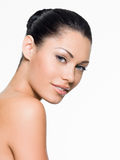 Woman with beautiful face Royalty Free Stock Photos