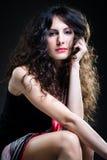 Woman With Beautiful Hair Stock Photos