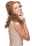 Woman with beautiful hairstyle Stock Photography
