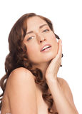 Woman with beautiful healthy skin Royalty Free Stock Photography