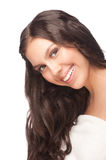 Woman with beautiful healthy skin Stock Photo